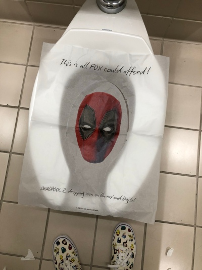 Deadpool toilet seats!