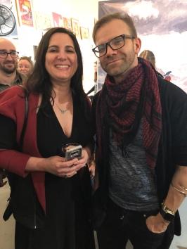 Sarah with Liam!