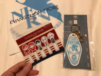 Evangelion store purchases.