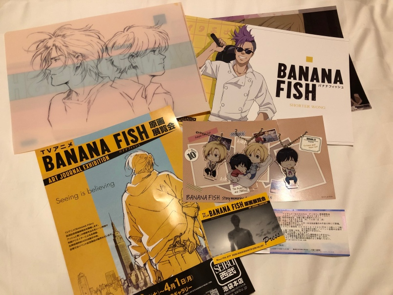 Clear file, keychains, and some promos.